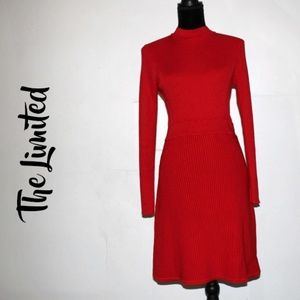 The Limited Long Sleeve Knitted Bodycon Dress Sz M